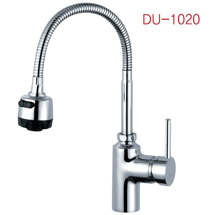 Vòi bếp cắm chậu (Ngổng dẻo) DU-1020