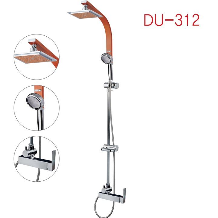 Sen Cây tắm nóng lạnh ( không vòi ra ) màu cam Daehan DU-312