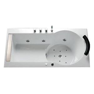Bồn tắm xây massage sục khí CAESAR MT211SAL(R)