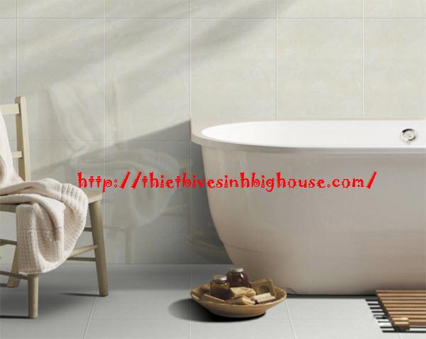 Thiết kế phòng tắm đẹp gạch ốp tườngcao cấp Taicera