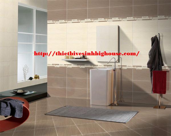 phòng tắm đẹp với gạch ốp lát cao cấp Taicera