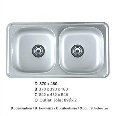 Chậu rửa bát CICO ISD – 870
