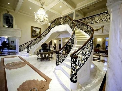 gạch lát cầu thang đẹp
