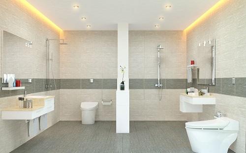 gạch ốp nhà vệ sinh Viglacera