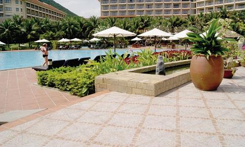 gạch lát sân vườn Đồng Tâm