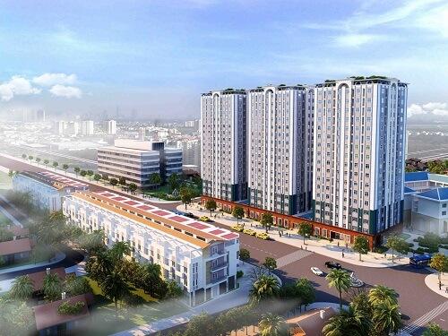 Dự án chung cư và trung tâm thương mại quận Gò Vấp