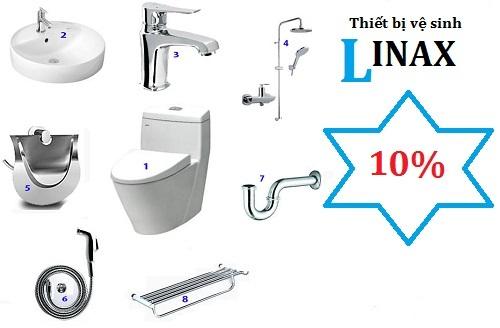 thiết bị vệ sinh Inax khuyến mãi