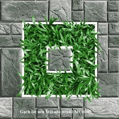 Gạch cỏ Mikado 4