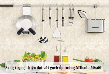 """10 mẫu gạch Mikado 30×60 """"đáng mua"""" và kinh nghiệm chọn gạch phù hợp"""
