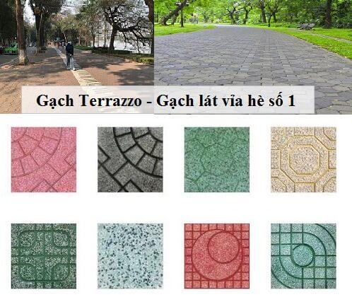 Gạch Terrazzo là gì