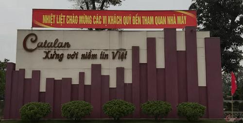 Nhà máy gạch Catalan Bắc Ninh
