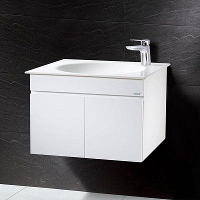 Bộ Tủ chậu rửa mặt Caesar LF5038+EH151V