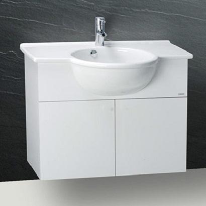 Bộ Tủ chậu rửa mặt Caesar LF5306+EH180V