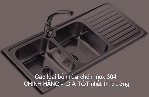 Các loại bồn rửa chén Inox 304 CHÍNH HÃNG – GIÁ TỐT nhất thị trường