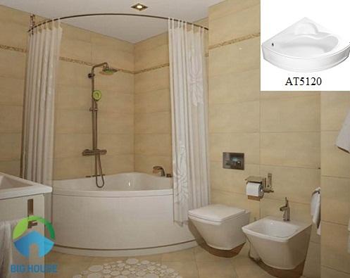 bồn tắm góc 1