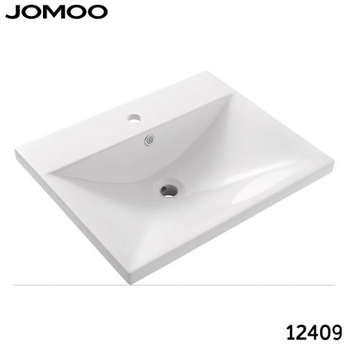 Chậu rửa mặt sứ nổi vành Jomoo 12409