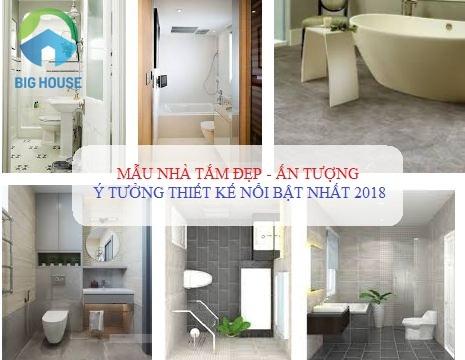 10+ Mẫu nhà vệ sinh đẹp với ý tưởng thiết kế SIÊU HOT – NỔI BẬT nhất 2018