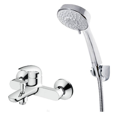 Sen tắm Daebak 2 chân ( Có bát + Dây cấp) – 8241
