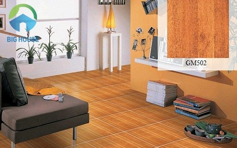 gạch lát nền giả gỗ viglacera 3